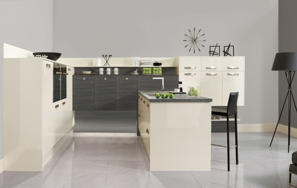 Image Contemporary Kitchens Lancaster Contemporary