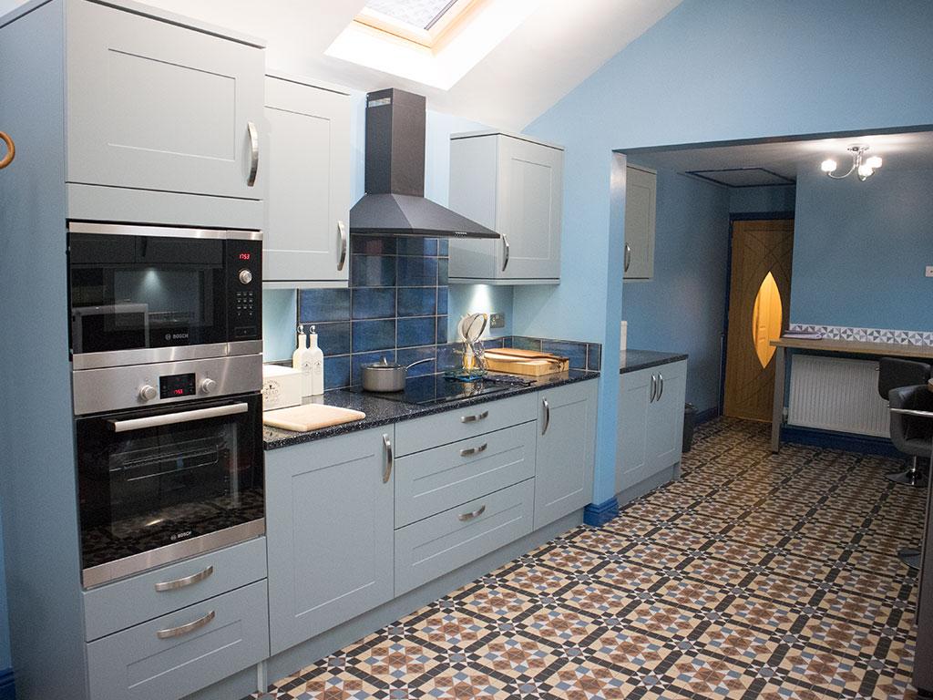 True Blue - Debbie & Russ - Urban Kitchens in Preston and Lancaster